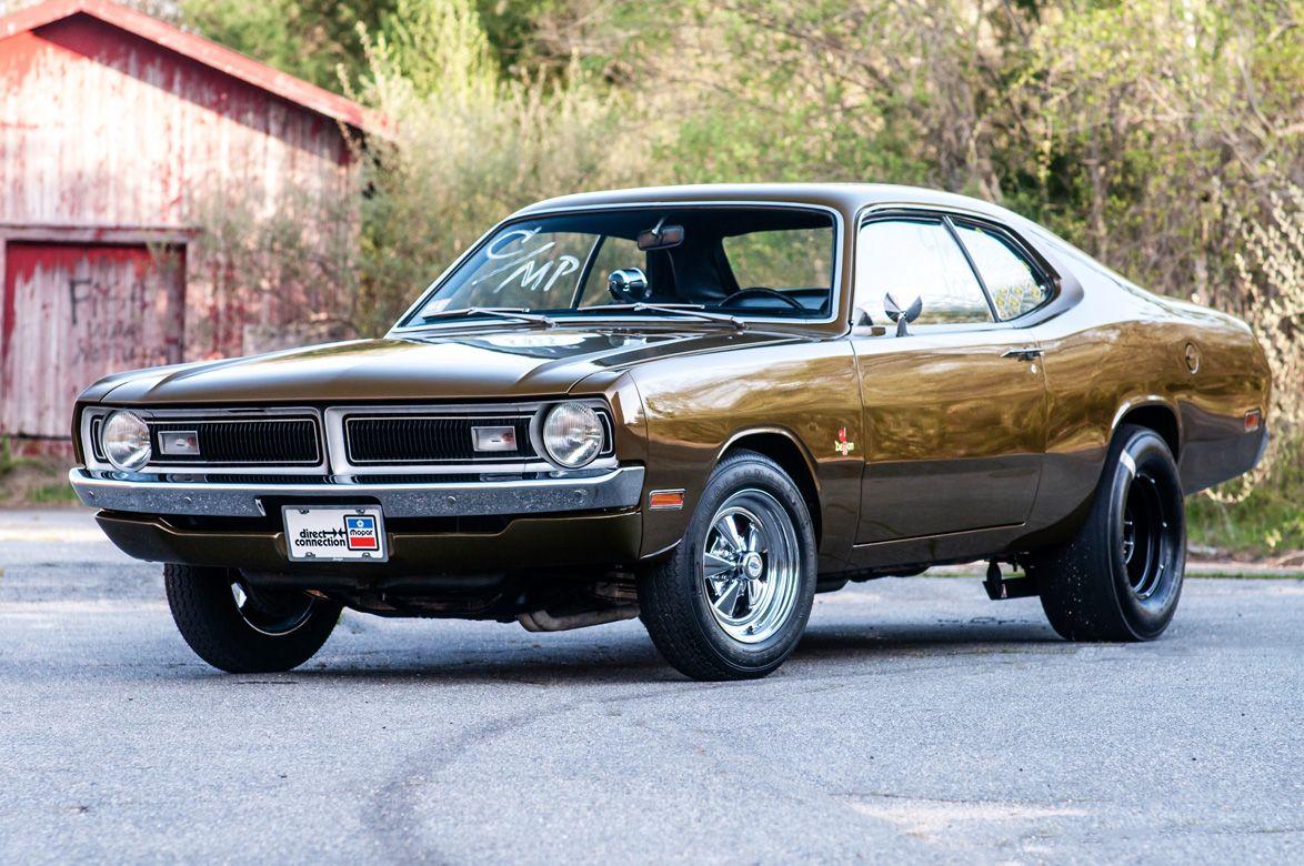1971 Dodge Demon http://www.musclecardefinition.com/