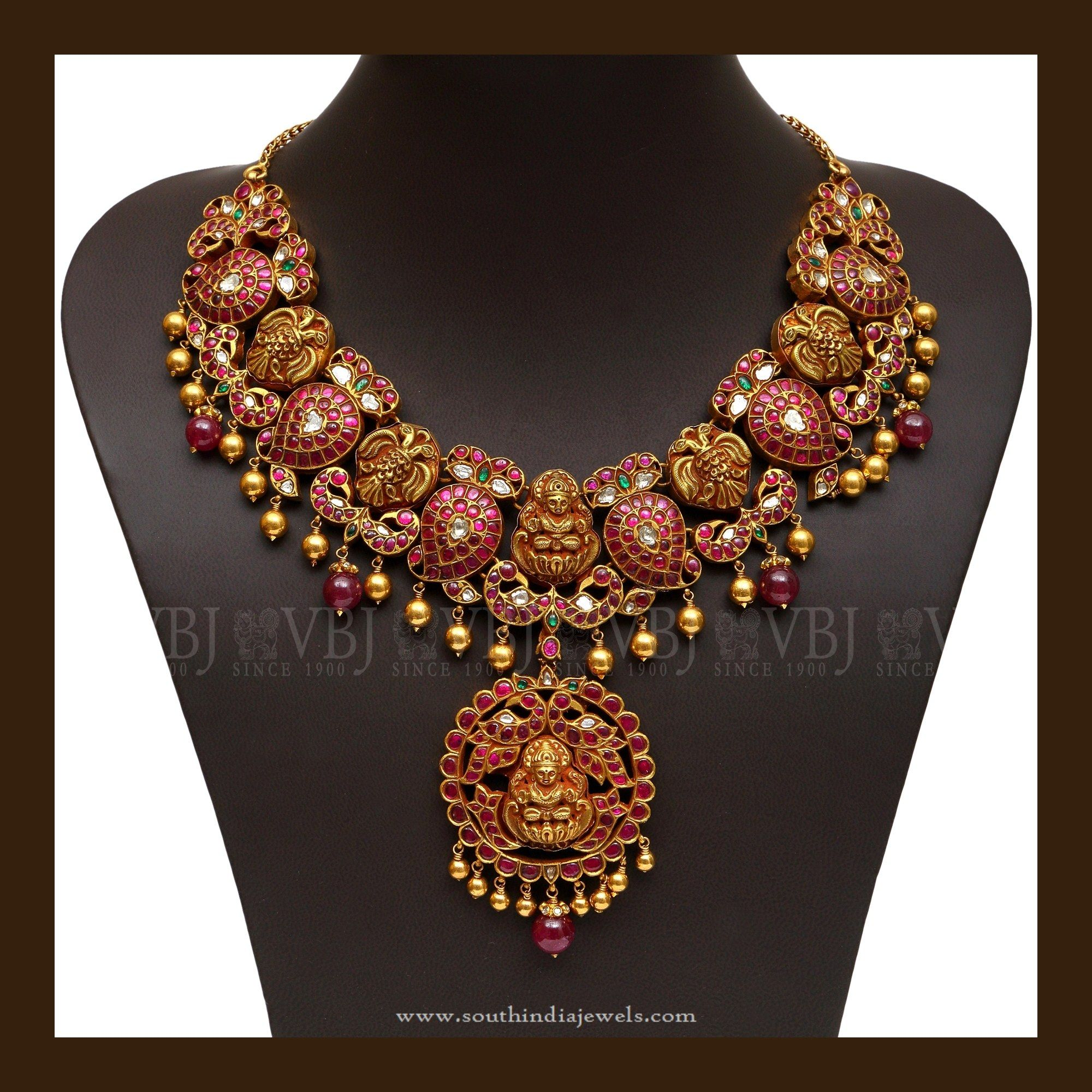 long antique jewellery latest sai gold hara necklace palace designs