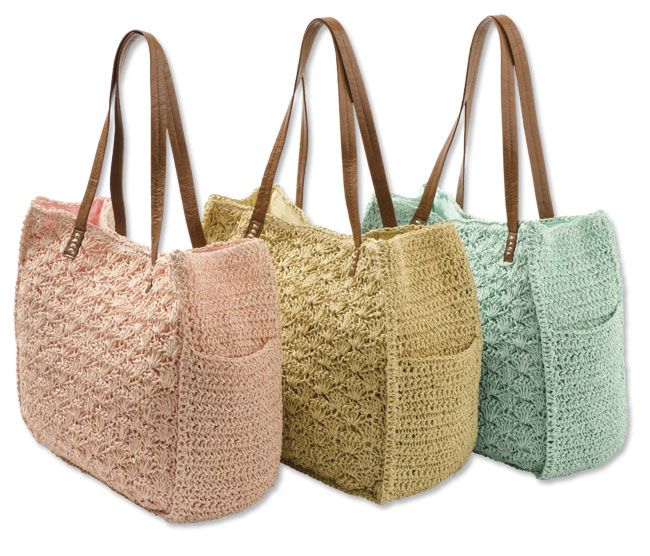 just found this crochet handbag scalloped pastel crochet. Black Bedroom Furniture Sets. Home Design Ideas