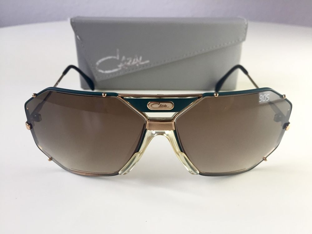 66931f4373c4 vintage CAZAL 905 col 350 green sunglasses W.Germany rare 902 901 968 in  Kleidung