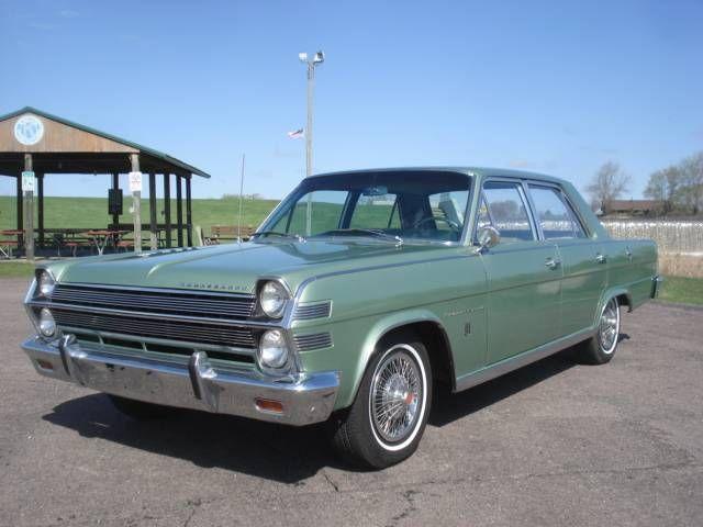1966 Amc Ambassador 990 Amc American Motors Classic Cars