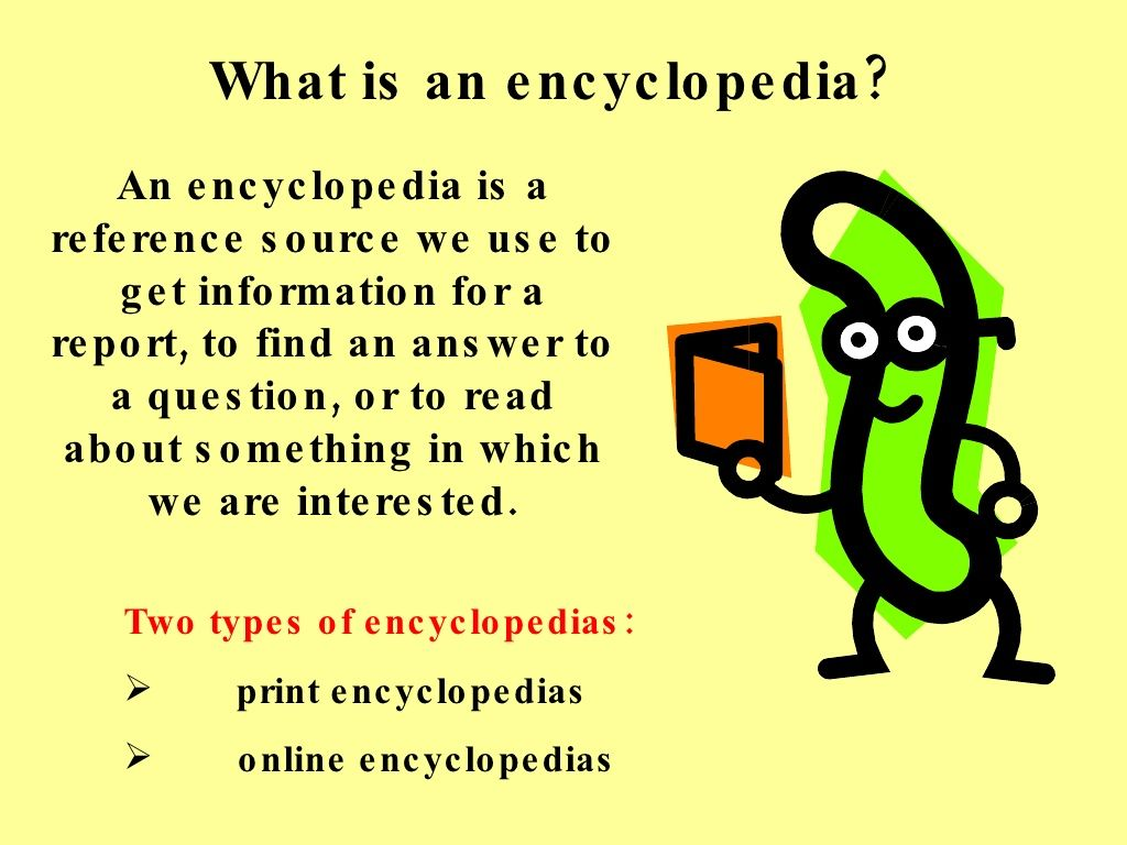 Encyclopedia Lesson For 3rd Grade By Tiger Creek