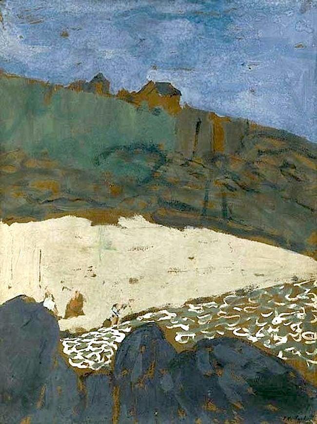 Édouard Vuillard (French, 1868-1940), La maison dans la dune