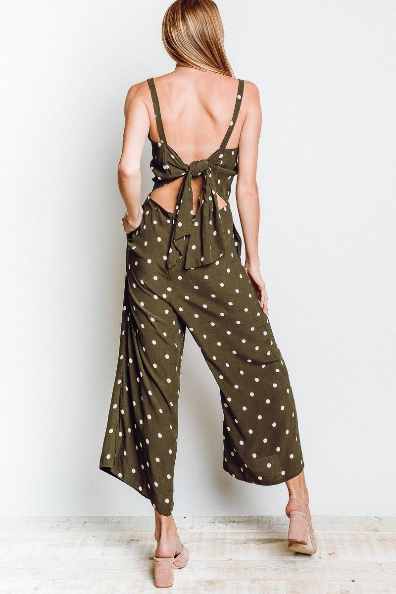 4a47590ee6f FAITHFULL THE BRAND Playa Jumpsuit In Ronja Dot Print  169.00 ...