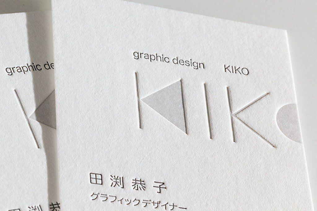 2色活版印刷x気包紙 paper art pinterest business cards paper
