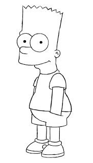 How To Draw Bart Simpson With Images Simpsons Art Easy