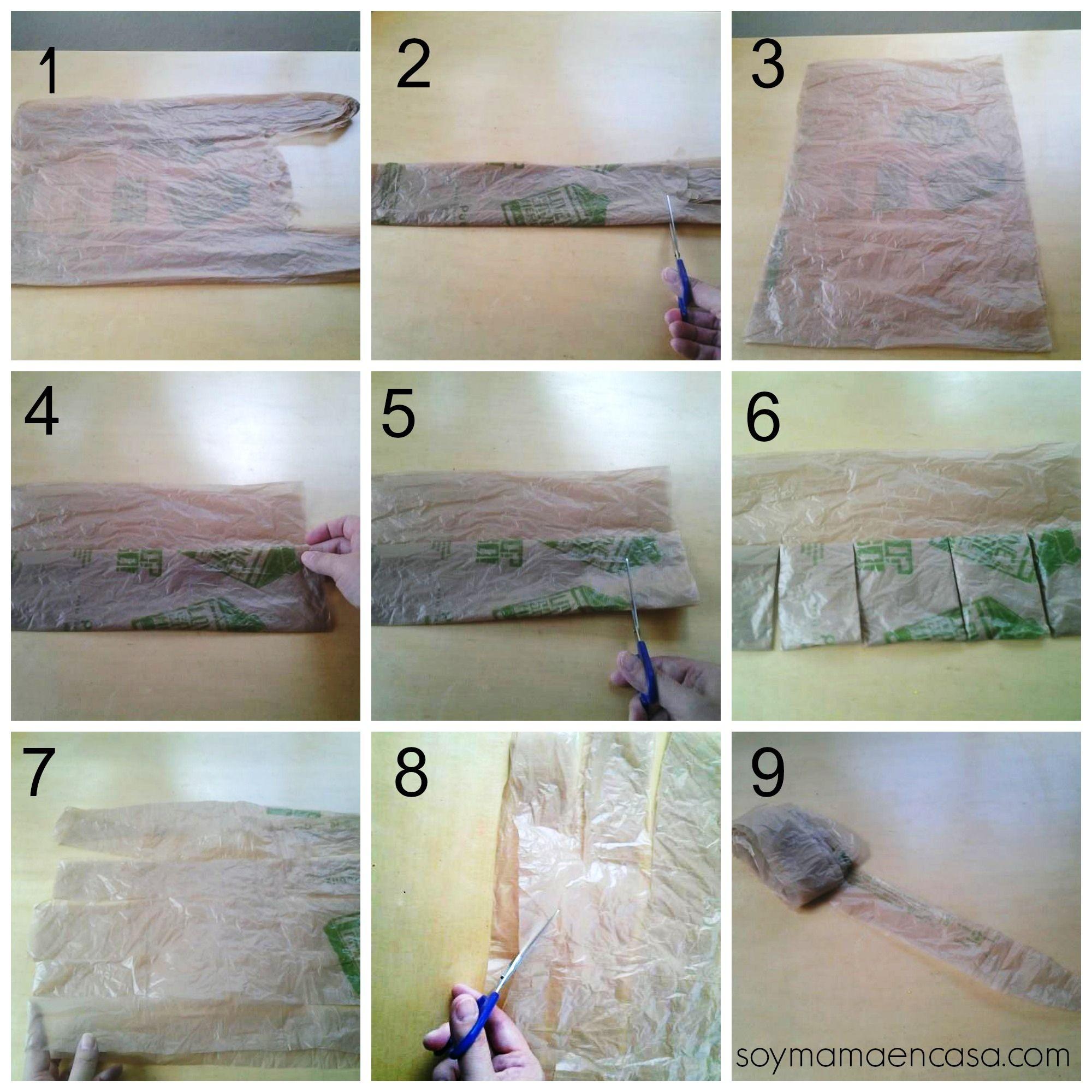 Pasos para reciclar bolsas de pl stico reciclaje - Ideas para reciclar ...