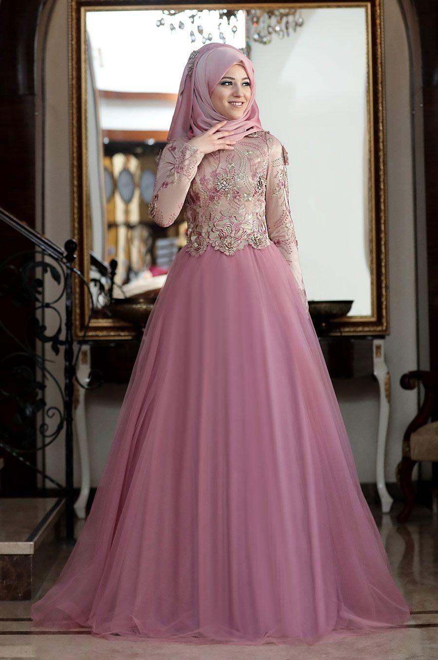 Sik Tesettur Tul Abiye Modelleri Giyim Elbise Dugun Elbiseler