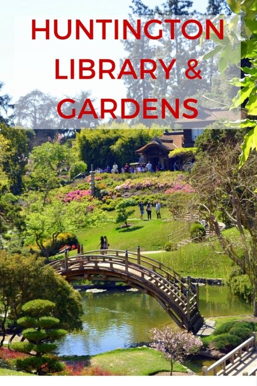 An Afternoon Stroll at The Huntington Library, Art Collections and ...