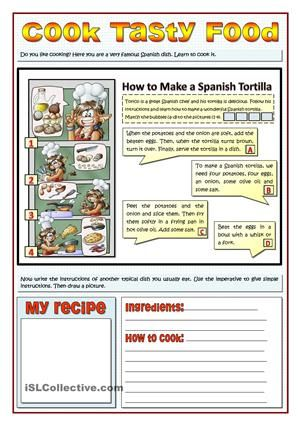 Cook Tasty Food Recipes And Imperatives Imperatives Pinterest