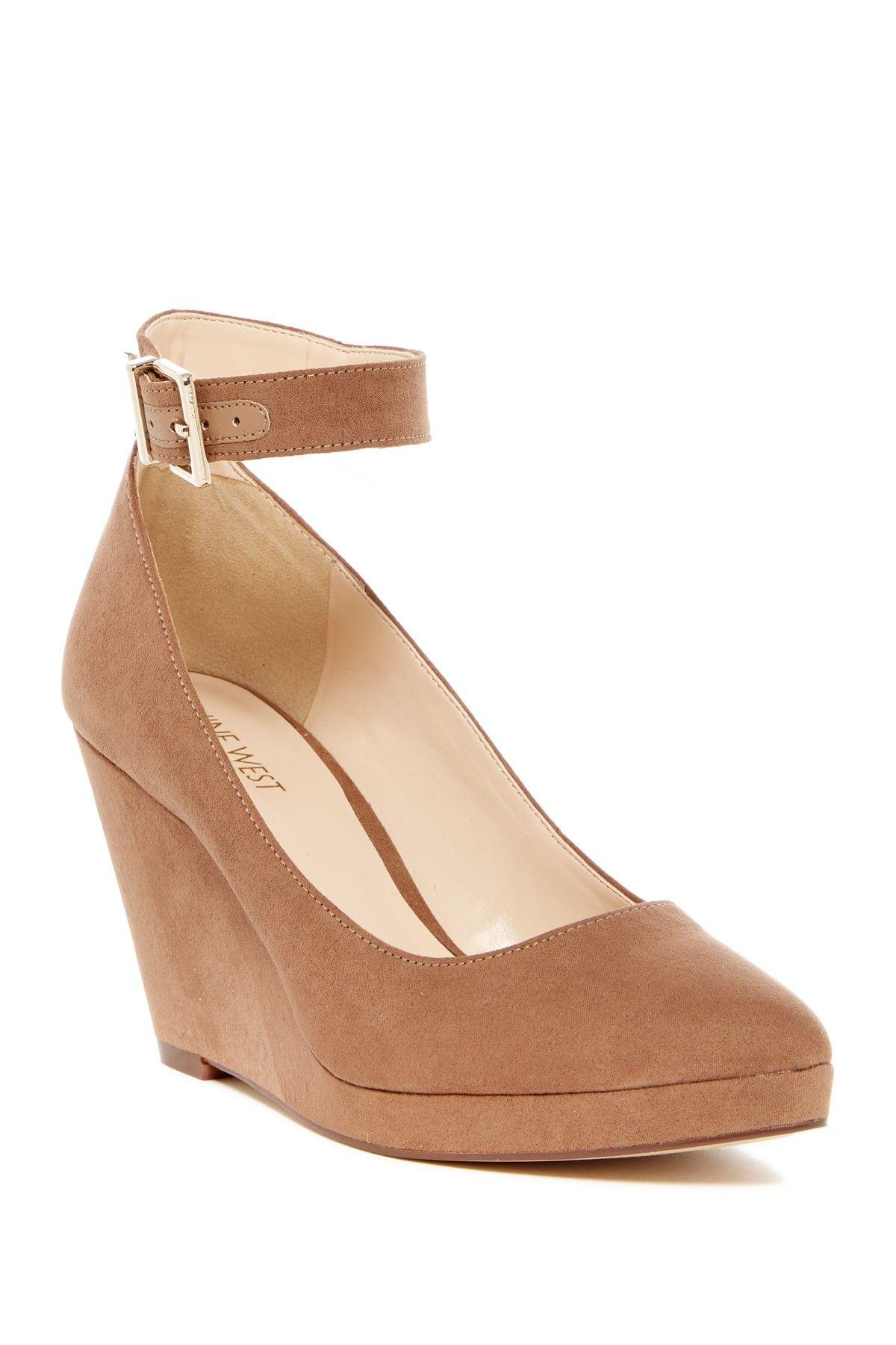 b332f862f Nine West Lucy Lou Wedge Pump | Womens Fashion Street | Wedges ...
