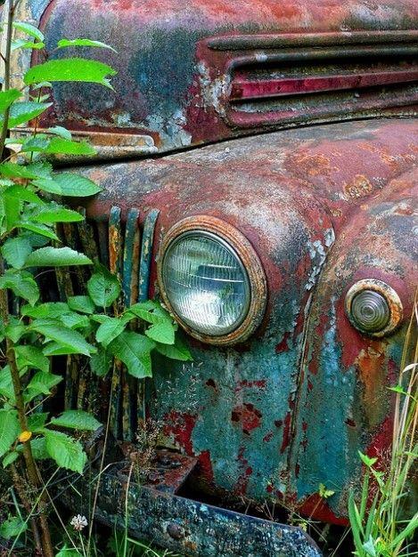 Telechargez Vieux Colore Transport Voiture Rouillee Antique Gratuitement Vieilles Voitures Voitures Abandonnees Vieux Camions