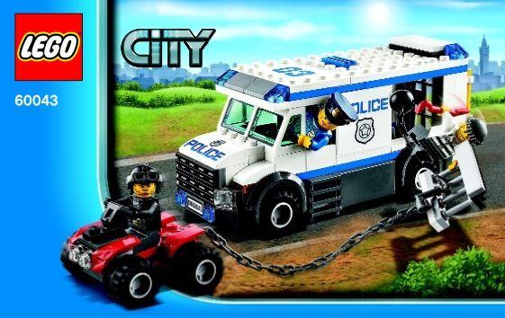 View LEGO instructions for Prisoner Transporter set number