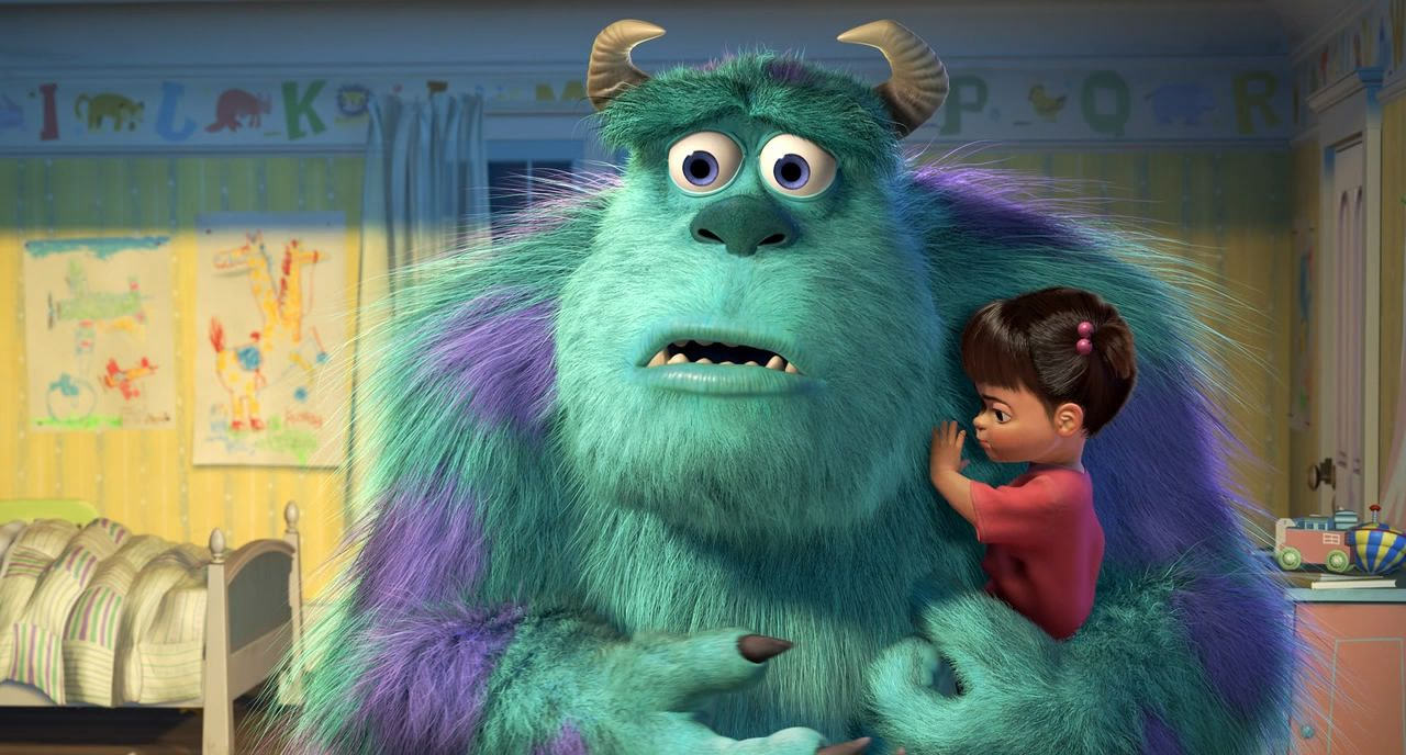 *SULLY & BOO ~ Monsters Inc., 2001