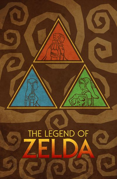 The Legend of Zelda - Triforce