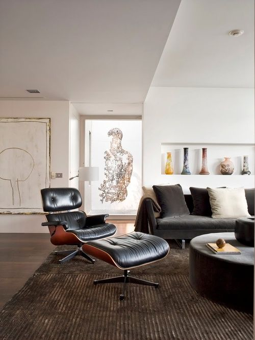 Forever A Classic The Eames Chair Has A White Future Designed Eames Lounge Chair Lounge Chairs Living Room Eames Lounge