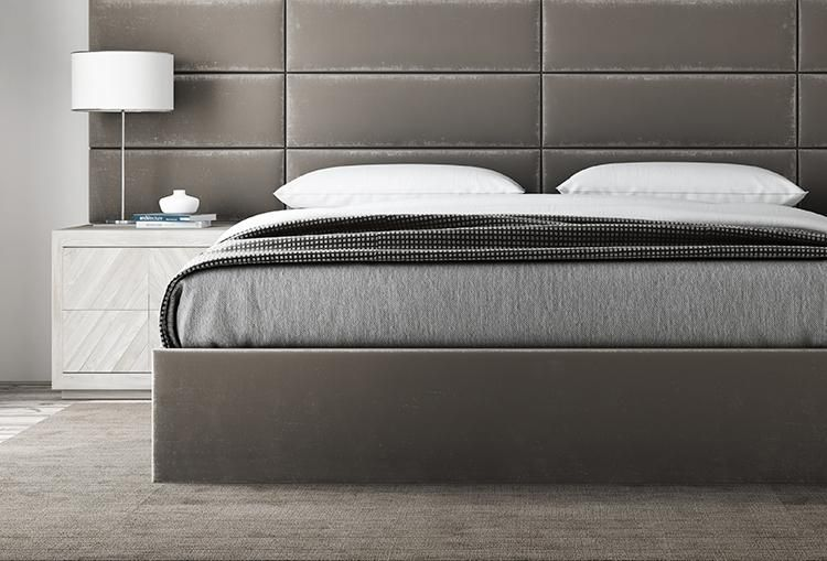 The Austin Layout 117 In 2020 Wall Mounted Headboards Upholstered Walls Cal King Headboard