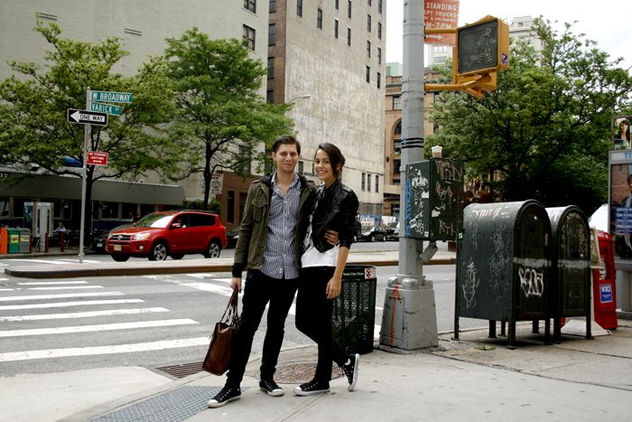 The couple at NYC