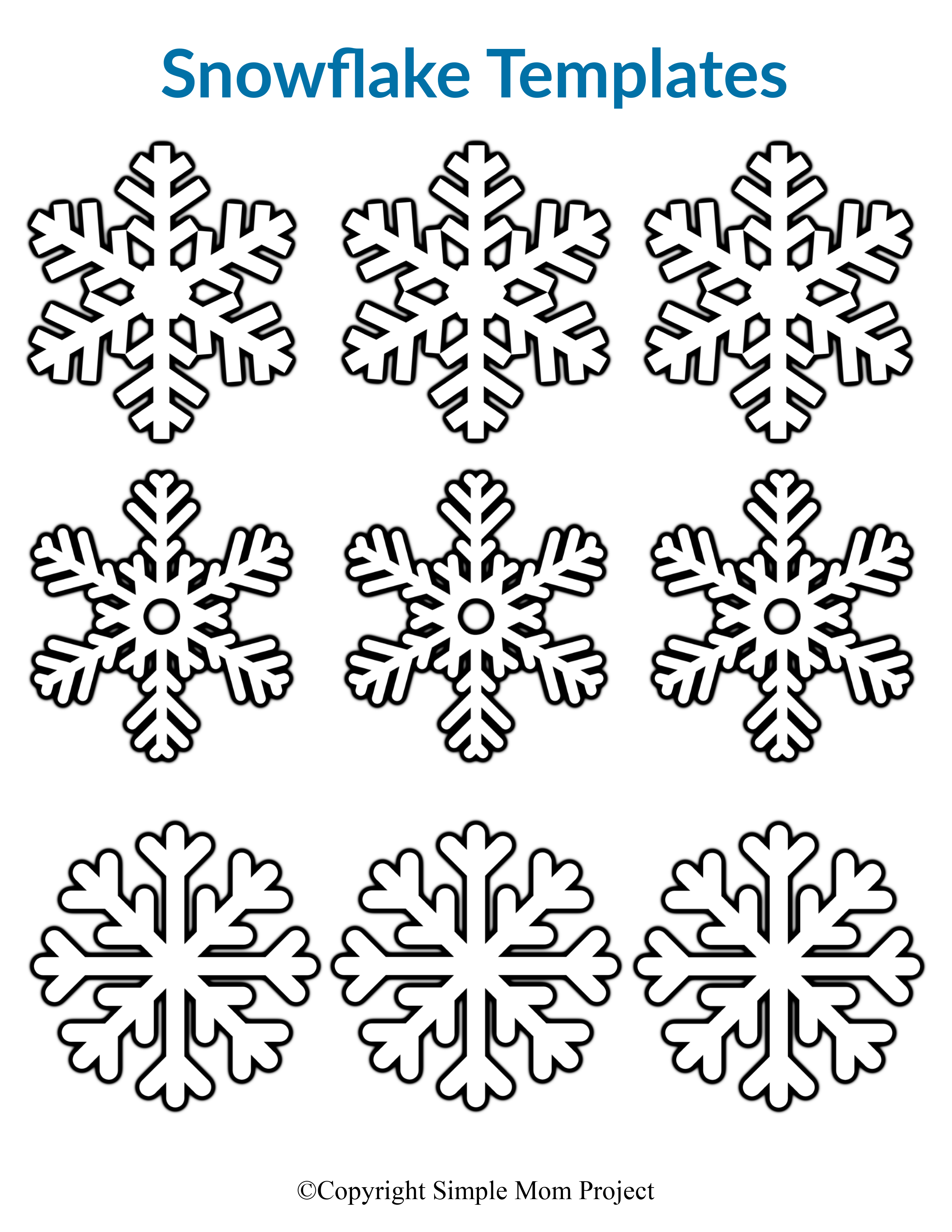 Winter Coloring Pages Printable Coloring Lab Snowflake Coloring Pages Snowflake Template Printable Christmas Games