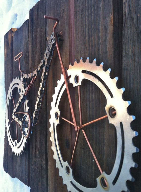 Bike Art Twice Bitten Van Thebikefund Op Etsy Bike Art Bike Jewelry Bicycle Art