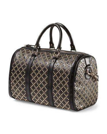 Studded Satchel - Crossbody Bags - T.J.Maxx