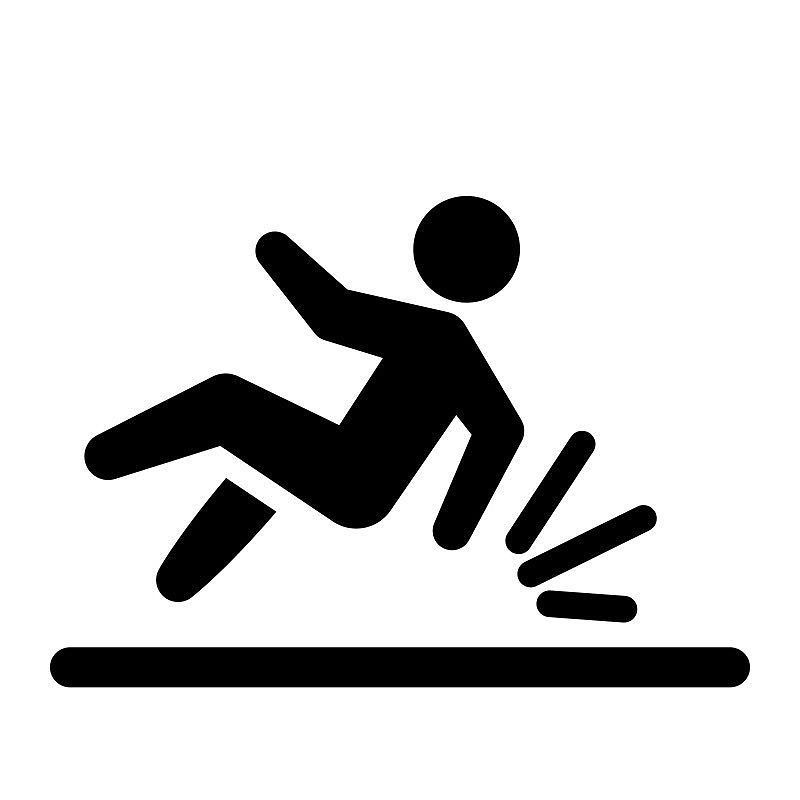 Anyone can slip trip or fall & you may be within your