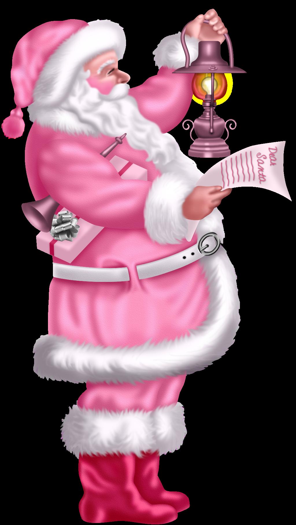 santa santas and vintage christmas pink. Black Bedroom Furniture Sets. Home Design Ideas