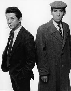 John Hurt and Ian Mckellum