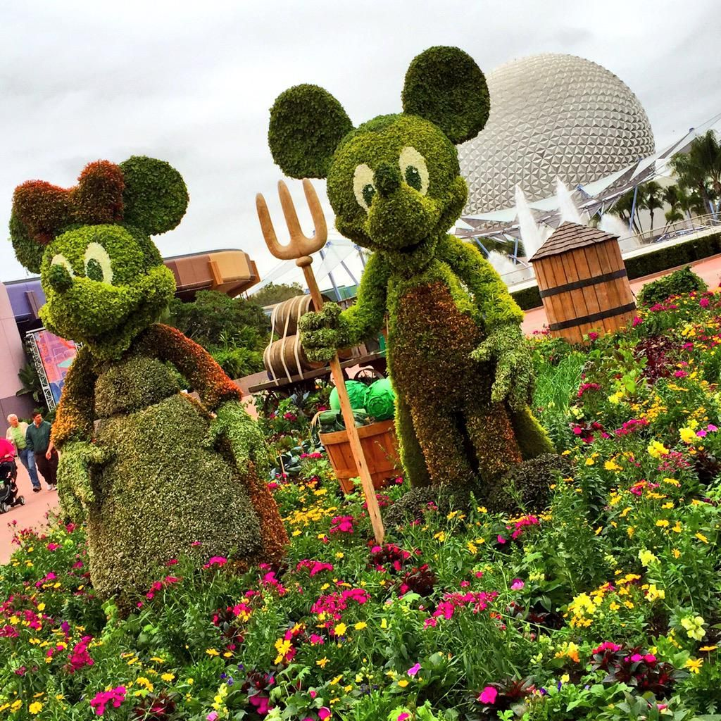 Of course, it wouldn\'t be the Epcot Flower & Garden Festival without ...