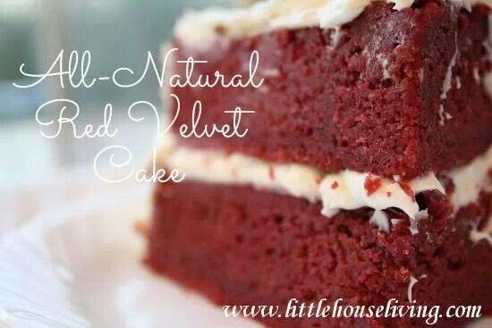 All natural Red Velvet cake