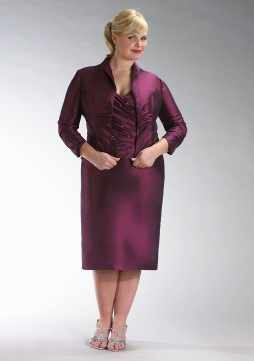 mother of the bride pant suits plus sizes   Plus-size Mother of ...