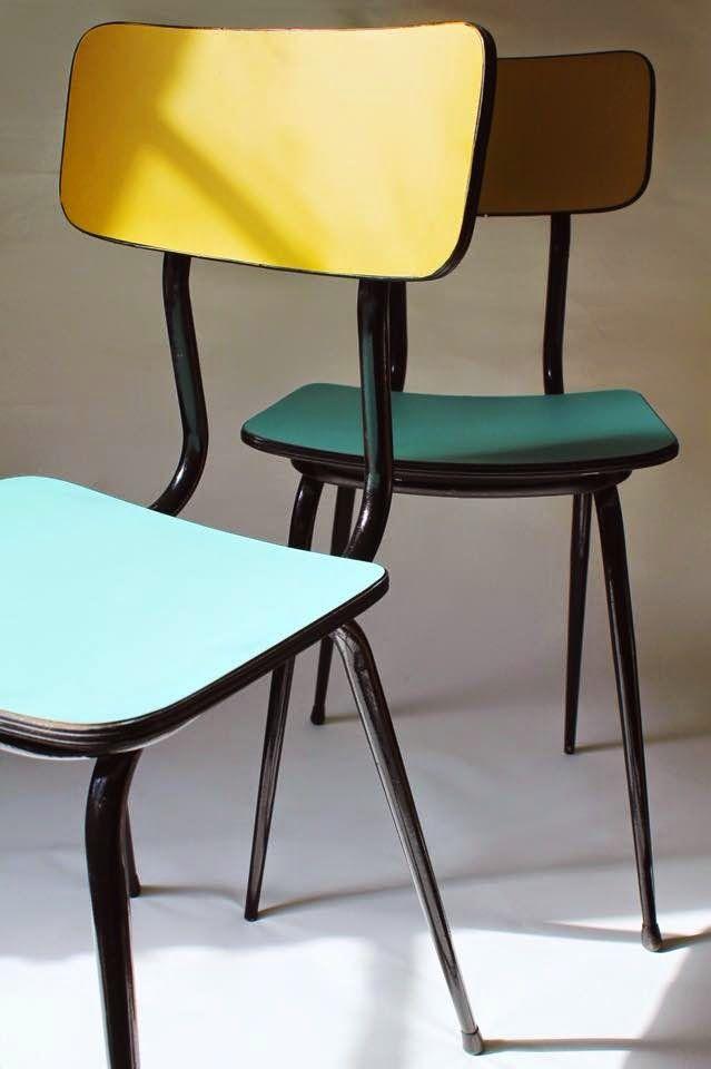Les eines sillas formica muebles chulos y decoraci n pinterest sillas muebles - Sillas formica ...