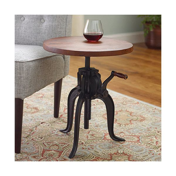 Dimensions: To X Steam Punk Inspired Pub Table Fully Functioning Hand Crank  Designed To Adjust The Height Of
