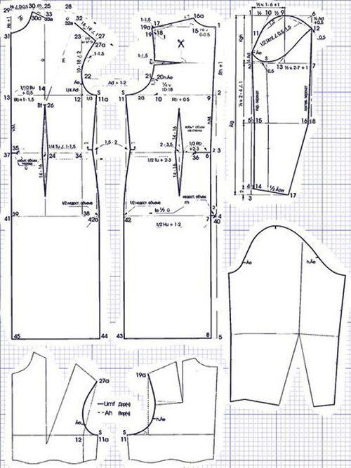 Patrones para hacer vestidos para gorditas03 | Ropa - Tamaño grande ...