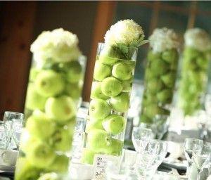 Vase pomme verte recherche google mariage pinterest for Pomme ceramique pour decoration