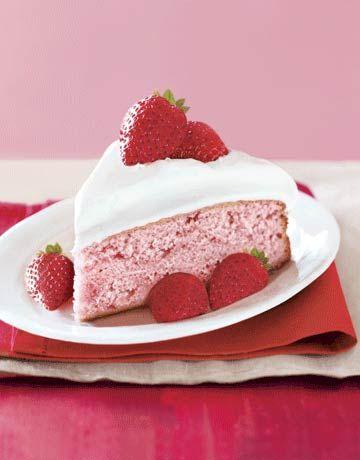 Quick Strawberry Cake