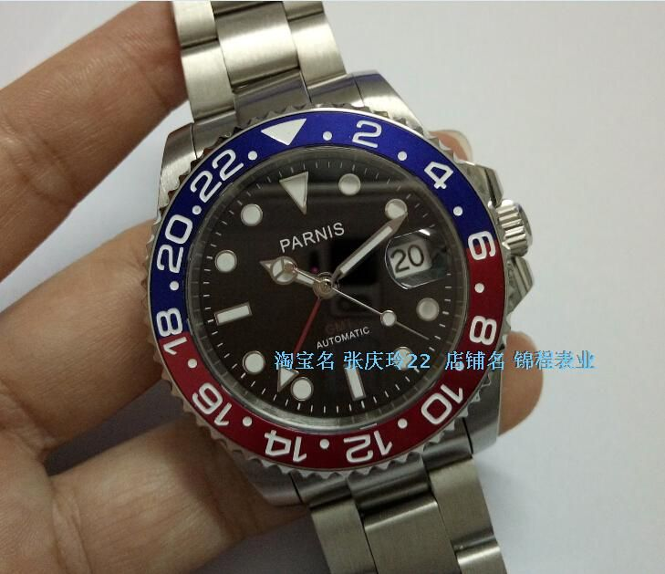 b10e2802c1c9 Click to Buy    40MM PARNIS Japanese Automatic Self-Wind movement Sapphire.