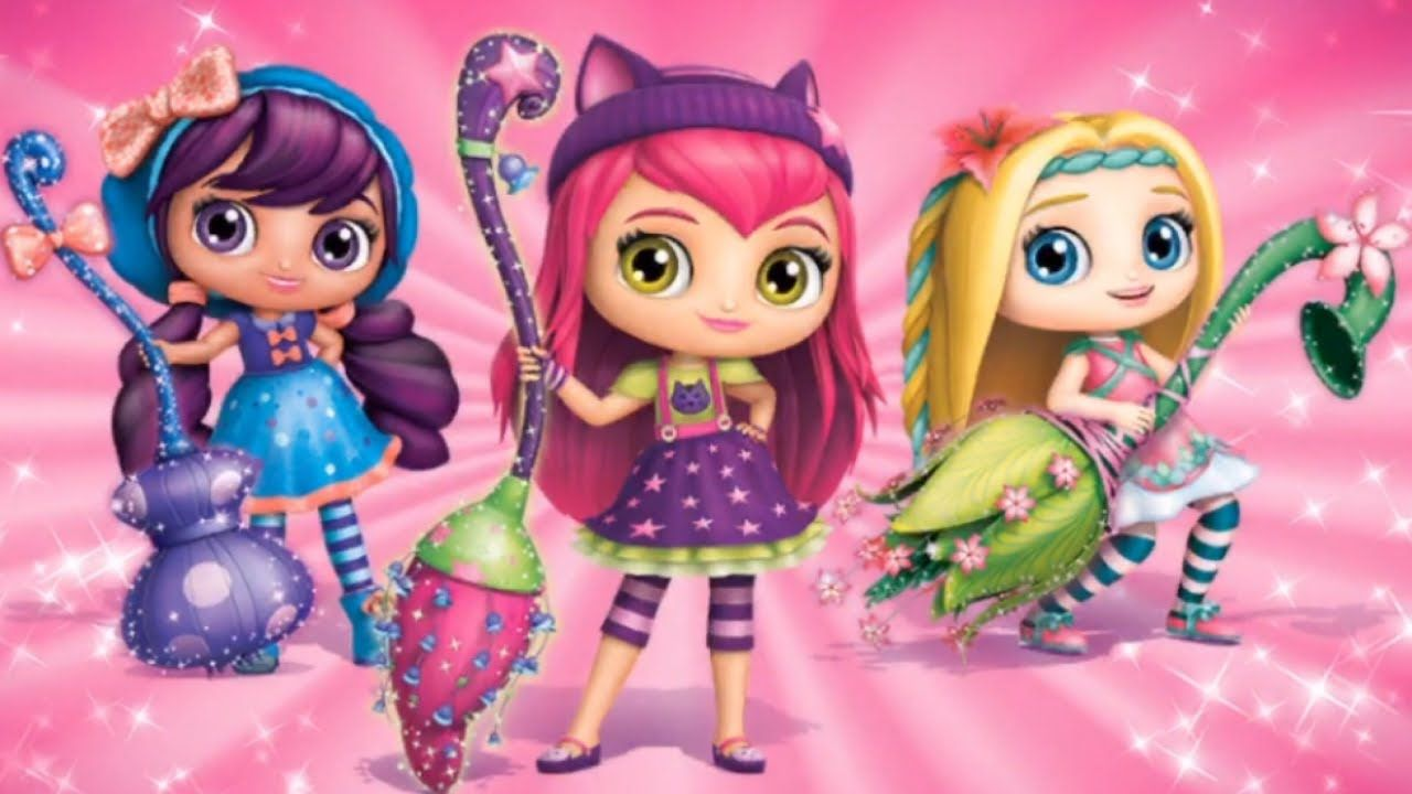 Little Charmers Sparkle Up Have Fun With A Magic Makeover Fun Games Little Charmers Fun Games For Kids Charmer