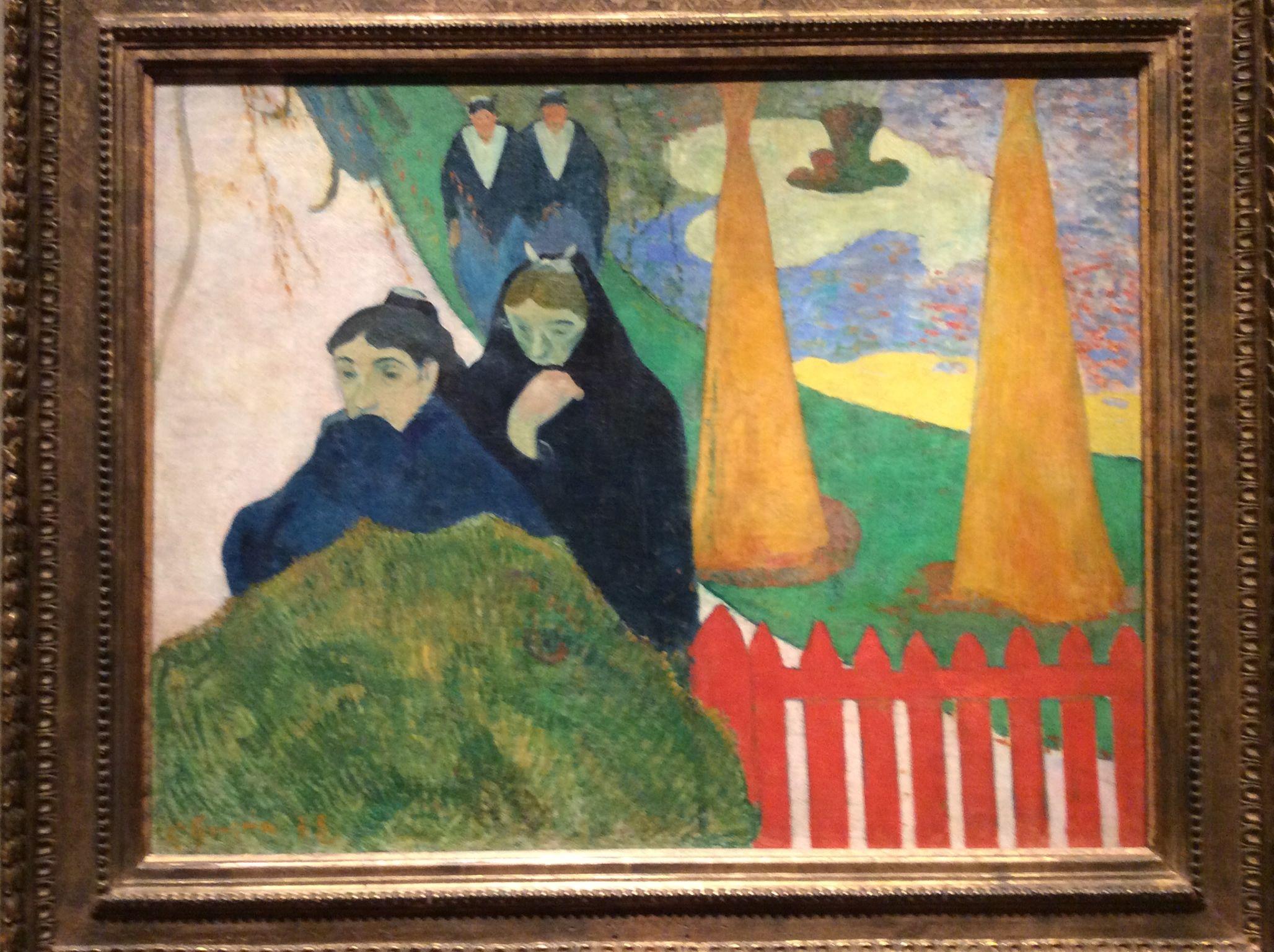 Paul Gauguin - Mistral
