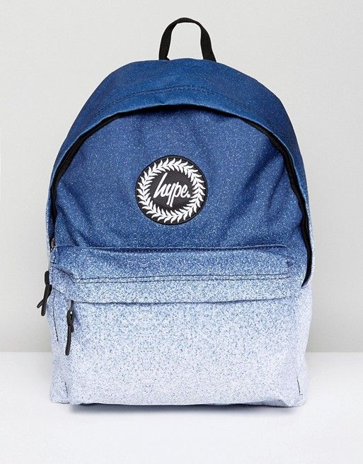 utterly stylish 50% price discount shop Hype Backpack In White Speckle Fade | Backpack bags, Backpacks ...
