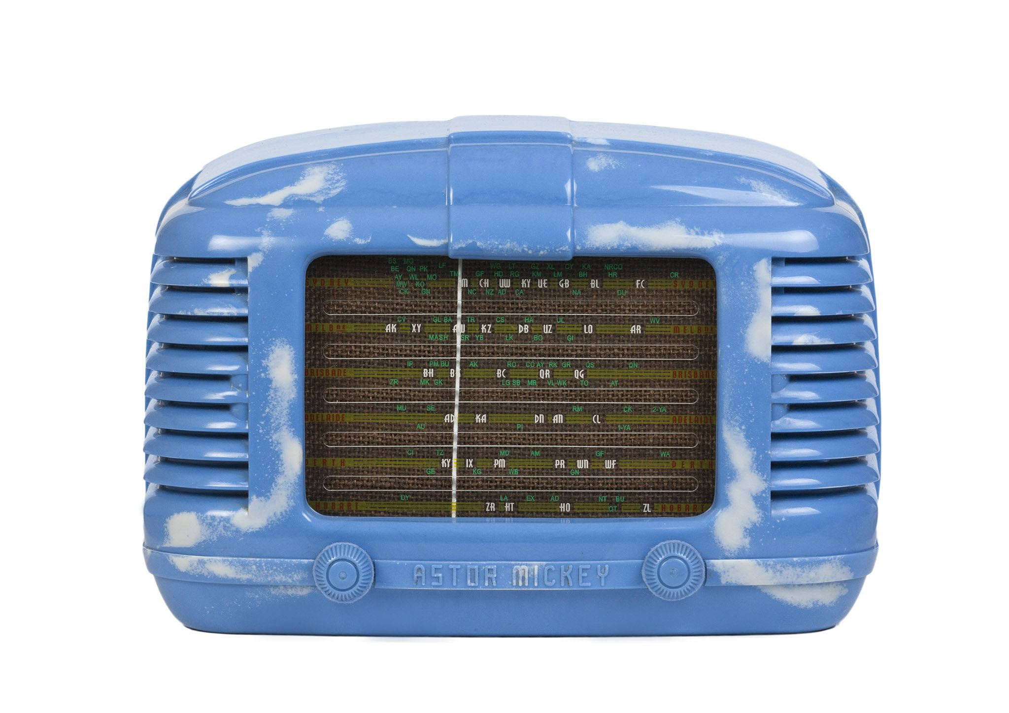 1946 Astor Mickey KL Radio (Australia)   Old Tube Radios in