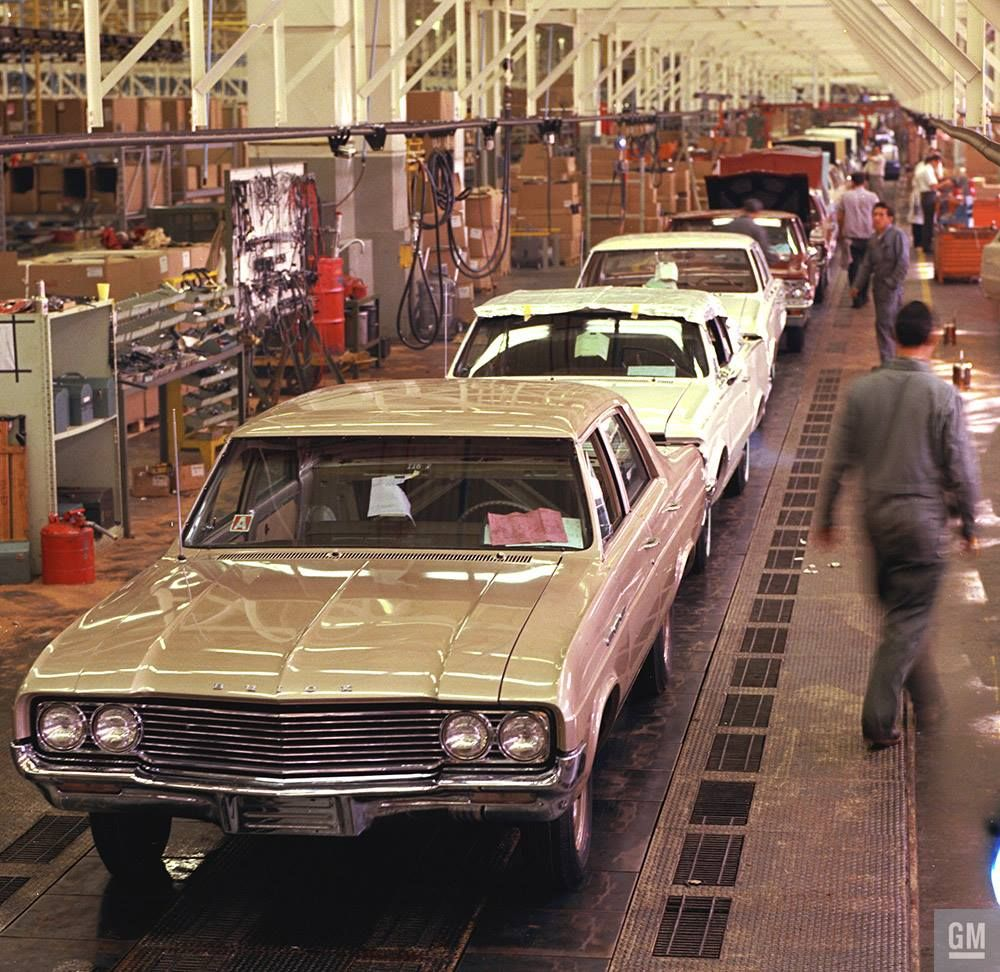 GM Photos Of Assembly Plants