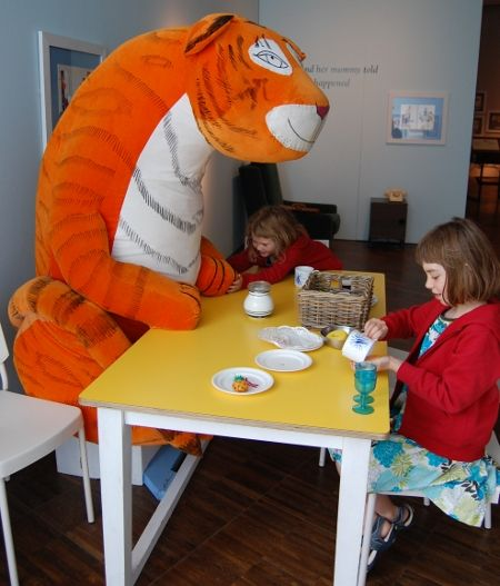 Judith Kerr Exhibition In Uk Feat Tiger Who Came To Tea And Mog The Forgetful Cat Art Gallery Childrens Stories Birthday Planning