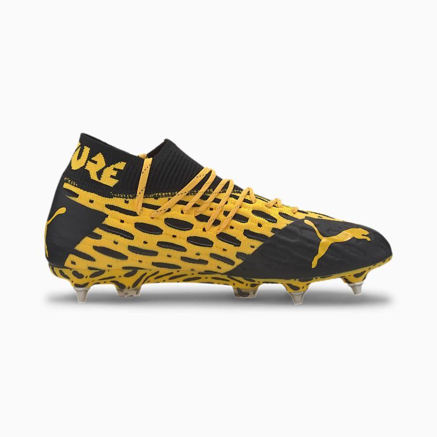 PUMA Future 5.1 NetFit Mxsg Football Boots in Ultra Yellow ...