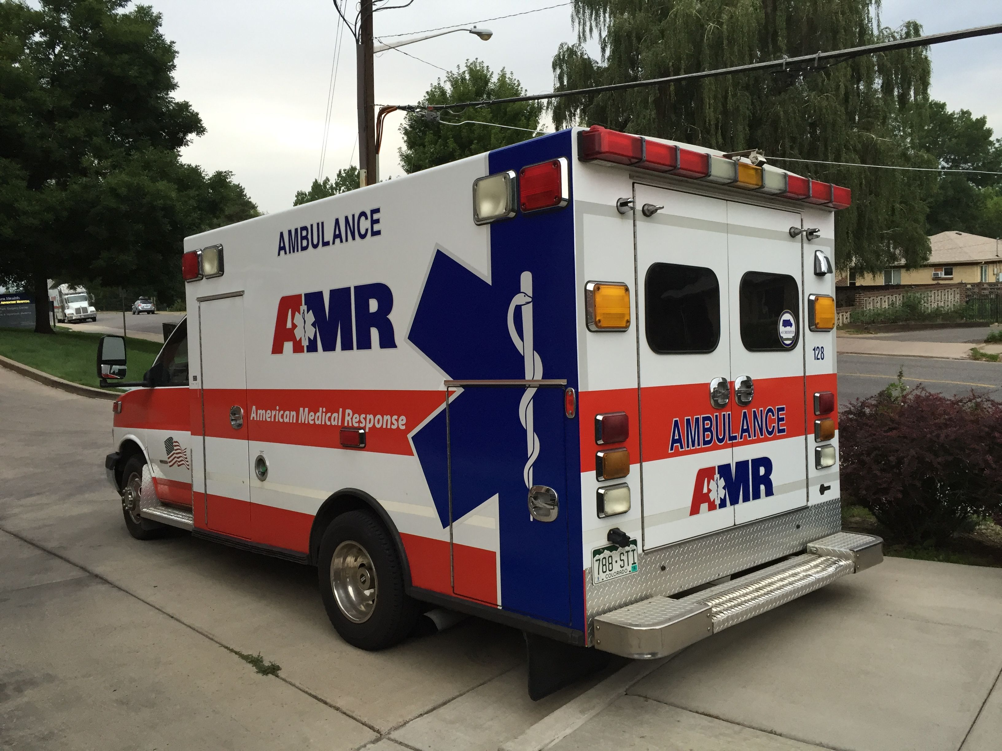 American Medical Response Ambulance 128 Chevy G3500 American Ambulance Ambulance Emergency Vehicles