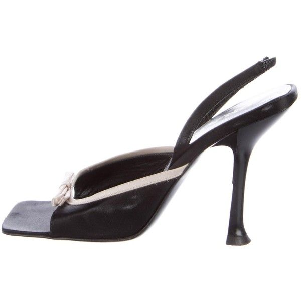 Pre-owned - Black Cloth Heels Bally 4G3jl7P