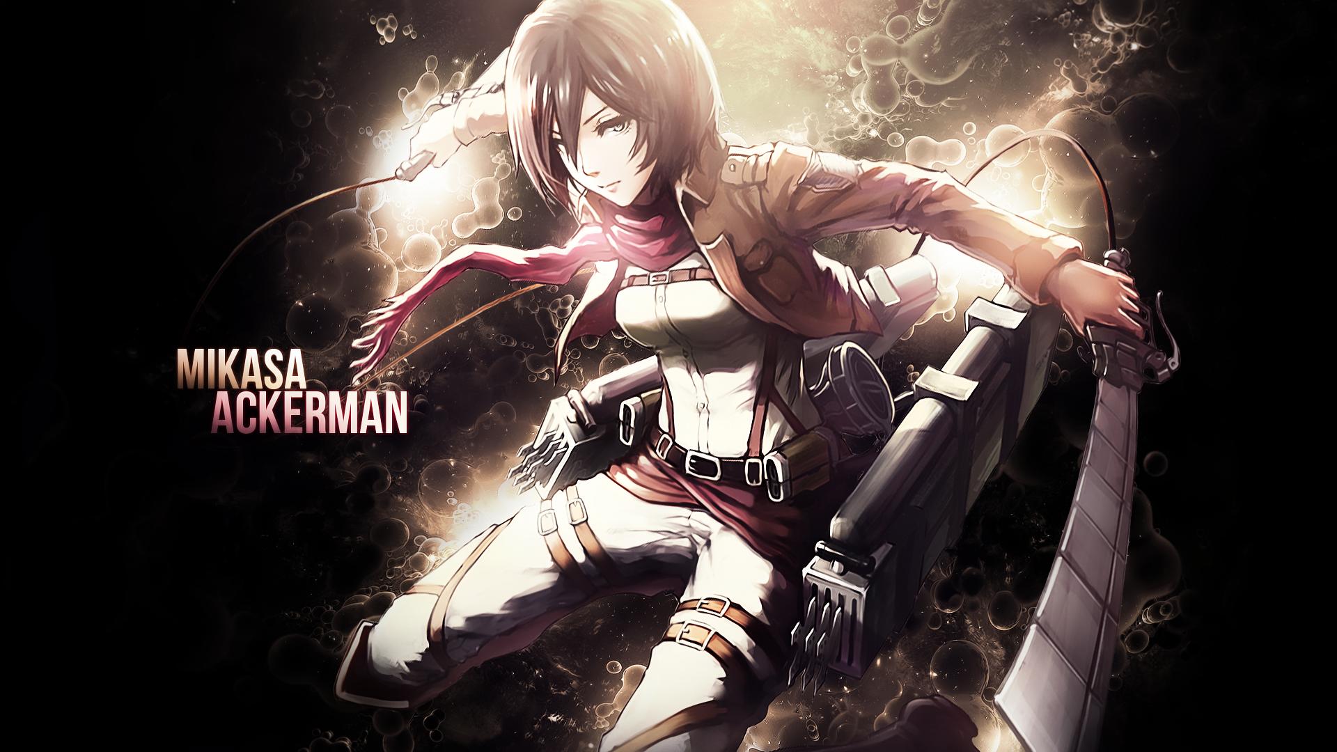 Anime Attack On Titan Mikasa Ackerman Attack On Titan Wallpaper Attack On Titan Anime Attack On Titan Titans Anime