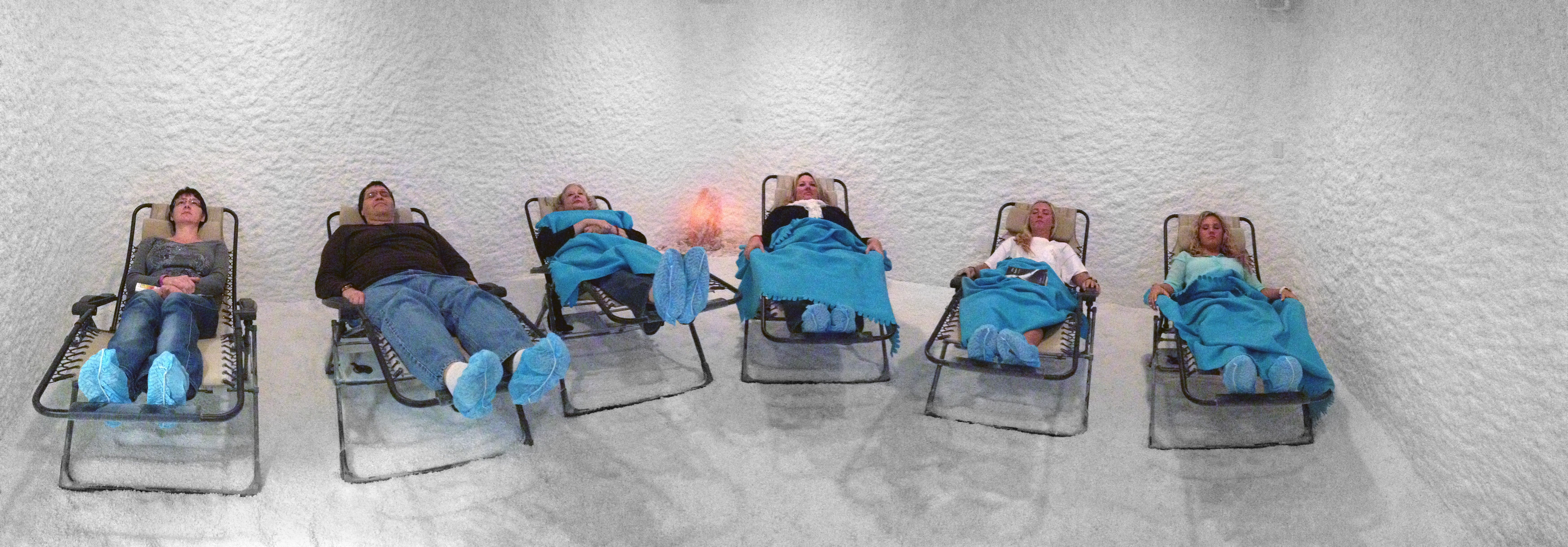 Come Relax In Zero Gravity Chairs In Our Salt Rooms
