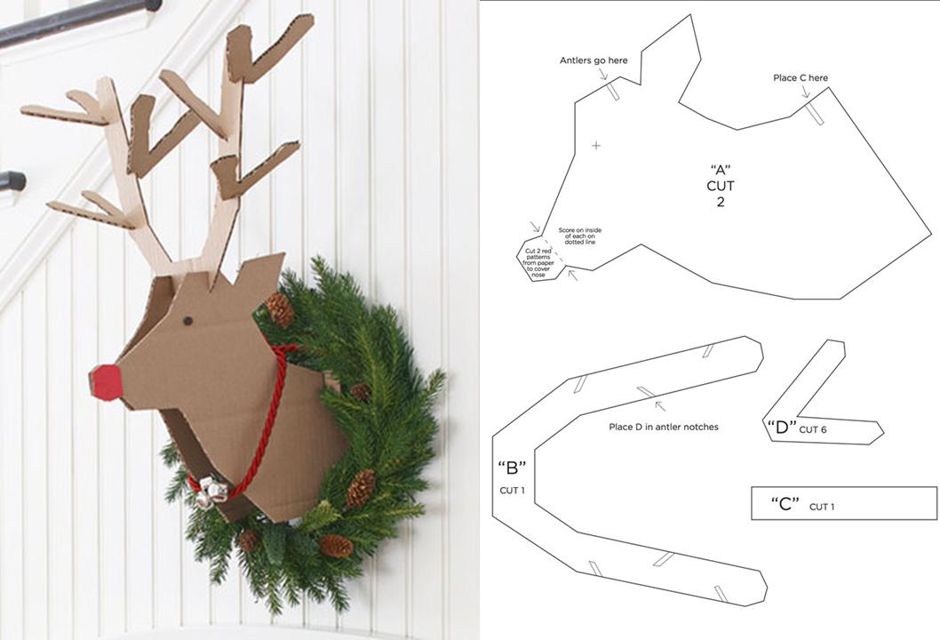 Diy para navidad decora con renos para navidad - Diy decoracion navidad ...
