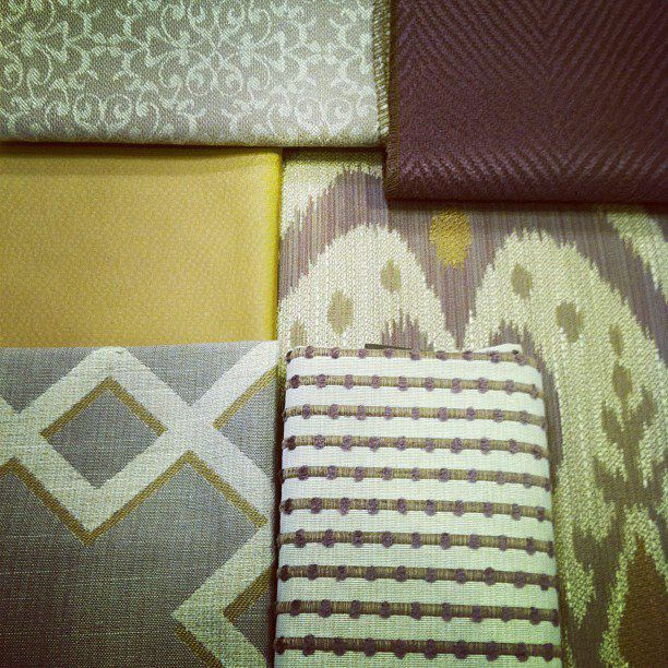 Shades Of Purple And Yellow With Flexsteel Fabrics